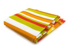 полотенце тарелки Стоковое Фото