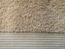 полотенце текстуры ванны Стоковое Изображение RF