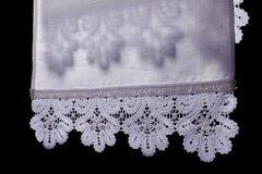 полотенце тени шнурка стоковое изображение