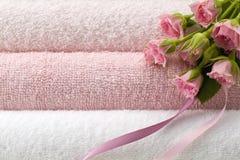 полотенце цветка Стоковая Фотография