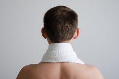 полотенце человека Стоковые Фото