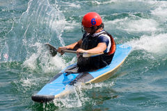 поло kayak Стоковые Изображения RF