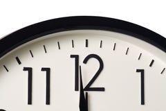полуночная минута одно к Стоковое Изображение