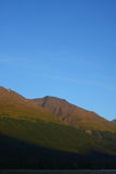 полуостров гор света kenai вечера ak Стоковое Изображение
