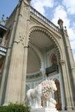 полуостров дворца Крыма vorontsovsky Стоковое Фото