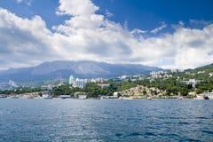 полуостров Крыма Стоковое Изображение RF
