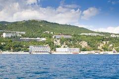 полуостров Крыма Стоковая Фотография