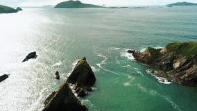 Полуостров Dingle Ирландии сверху - акции видеоматериалы