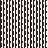 Полутоновое изображение вектора безшовное черно-белое выравнивает вид решетки Абстрактный геометрический дизайн предпосылки Стоковое Изображение RF