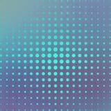 Полутоновое изображение на голубой предпосылке иллюстрация Стоковая Фотография