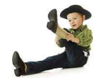 получать ботинок Стоковые Изображения RF