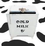 полученное молоко стоковое изображение rf