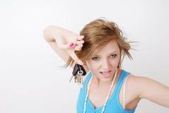 полученные ключи I стоковая фотография rf