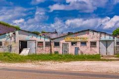Получившееся отказ здание стоковое изображение rf