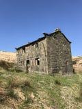 Получившийся отказ дом Великобритания фермы стоковые изображения rf