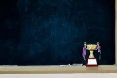 Получил много трофеев положенных на классн классный Стоковая Фотография RF