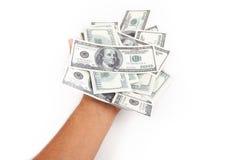 получите деньги наличными Стоковая Фотография RF