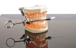 получите зубы реванша Стоковое Изображение RF