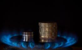получка газа Стоковая Фотография RF