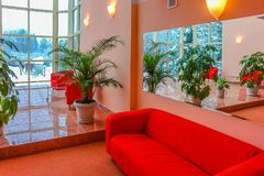 Польза комнаты дизайна внутренняя Стоковые Фото