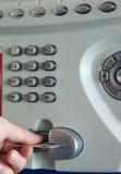 польза payphone общественная Стоковые Фото