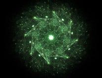 Пользовательский интерфейс Sci fi футуристический абстрактная иллюстрация Стоковые Фотографии RF