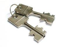 пользует ключом сейф Стоковое Изображение RF