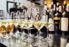 Польностью холодные каннелюры шампанского Стоковые Изображения