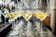 Польностью холодные каннелюры шампанского Стоковая Фотография