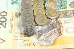Польские деньги Стоковое Изображение RF