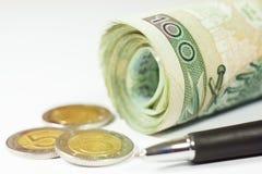 Польские деньги Стоковые Изображения