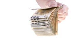 Польские кредитки Стоковое фото RF
