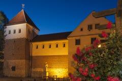 Польша, верхняя Силезия, Гливице, замок Piast Стоковая Фотография RF