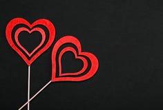 Полюбите концепцию на день ` s матери и день ` s валентинки Валентайн Любовь Валентайн открытки s дня Счастливые сердца дня ` s в Стоковое Изображение RF