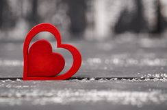Полюбите концепцию на день ` s матери и день ` s валентинки Валентайн Любовь Валентайн открытки s дня Счастливые сердца дня ` s в Стоковые Изображения
