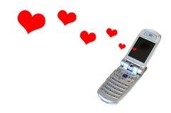 полюбите сообщение романтичное Стоковое Фото