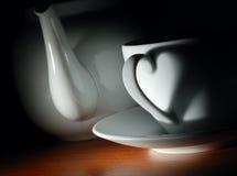 полюбите чай Стоковые Фотографии RF