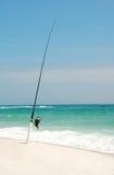 полюс пляжа удя Стоковые Фотографии RF