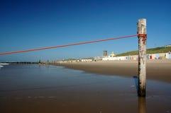 полюс пляжа Стоковые Изображения