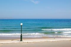 полюс фонарика пляжа Стоковые Фото