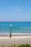 полюс фонарика пляжа Стоковое Фото