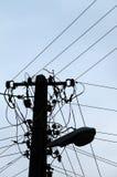 полюс электричества Стоковая Фотография