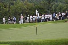 полюс 2 зеленого цвета ngc2009 флага шариков Стоковое Фото