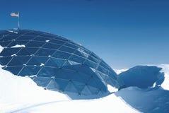 полюс 30 ft смещения купола южный Стоковое Фото