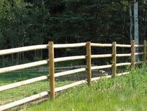 полюс fenceline Стоковое Изображение RF
