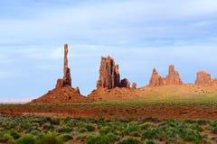 Полюс Totem, долина памятника Стоковое Изображение
