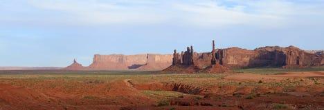 Полюс Totem, долина памятника Стоковая Фотография RF
