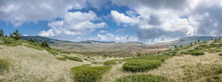 Поляк Добро поля брани WW1, македония - граница Греции стоковое изображение