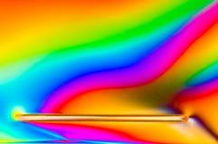 Поляризовыванный свет Стоковое фото RF