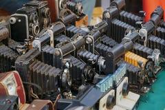 Поляроидные немедленные камеры стоковое изображение